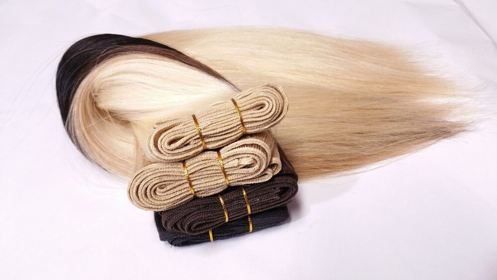 What is weft hair?